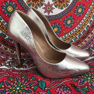 Brand New Silver Pumps